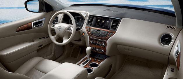 2015 Nissan Pathfinder Interior 123 Auto Deals
